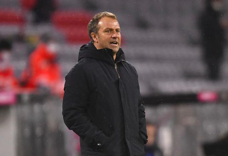 Hansi Flick unhappy with Bayern Munich's lethargic start in 2-1 loss to Eintracht Frankfurt - Bóng Đá