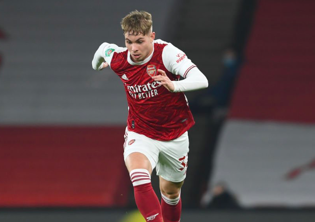 Emile Smith Rowe  - TIM SHERWOOD SAYS ARSENAL MIDFIELDER HAS BEEN 'OUTSTANDING' THIS SEASON - Bóng Đá