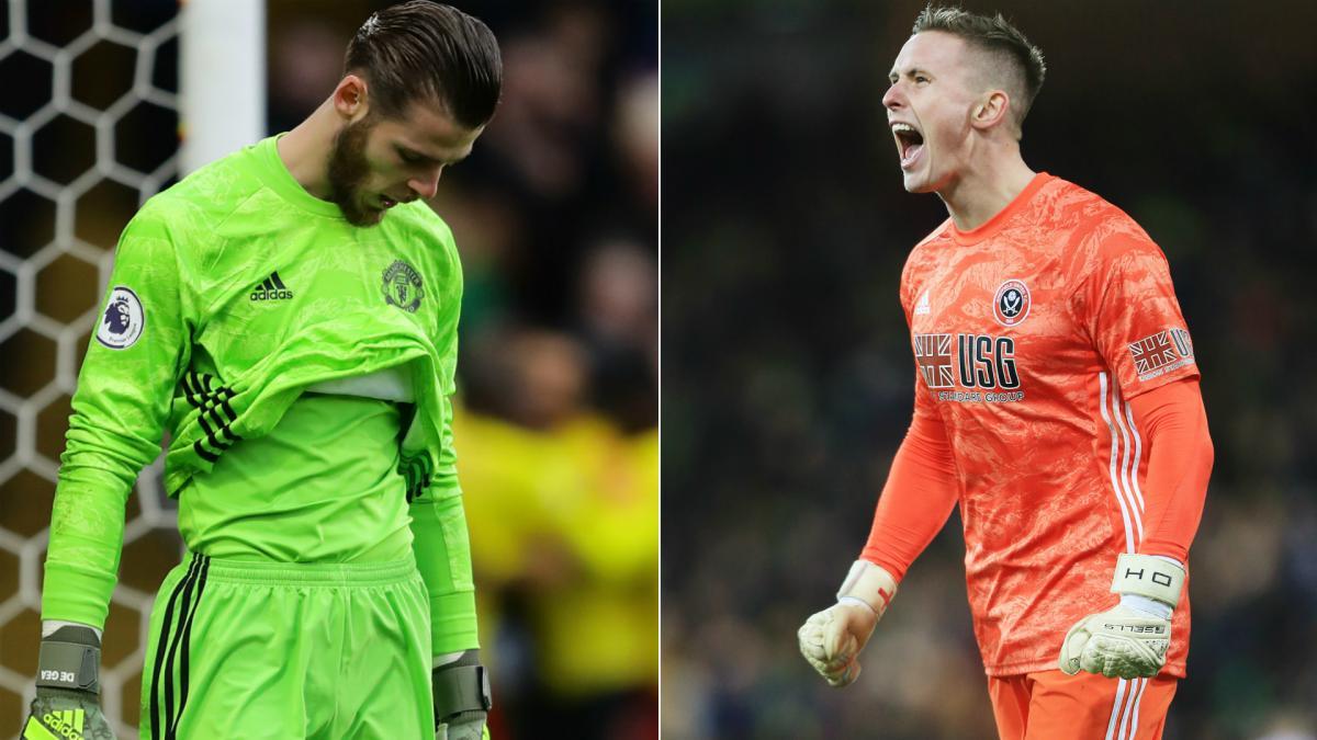 Cùng một tình huống, Henderson cho thấy sự khác biệt với De Gea - Bóng Đá