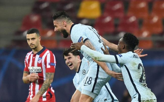 10 thống kê Atletico Madrid 0-1 Giroud: Ngả mũ trước Giroud! - Bóng Đá