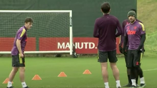 Luke Shaw and Harry Maguire's training ground spat after Dan James dispute - Bóng Đá