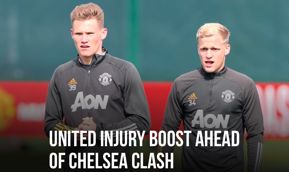 MAN UNITED UNITED INJURY BOOST AHEAD OF CHELSEA CLASH - Bóng Đá