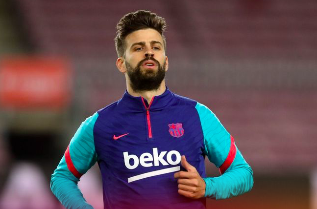Gerard Pique injured - Bóng Đá