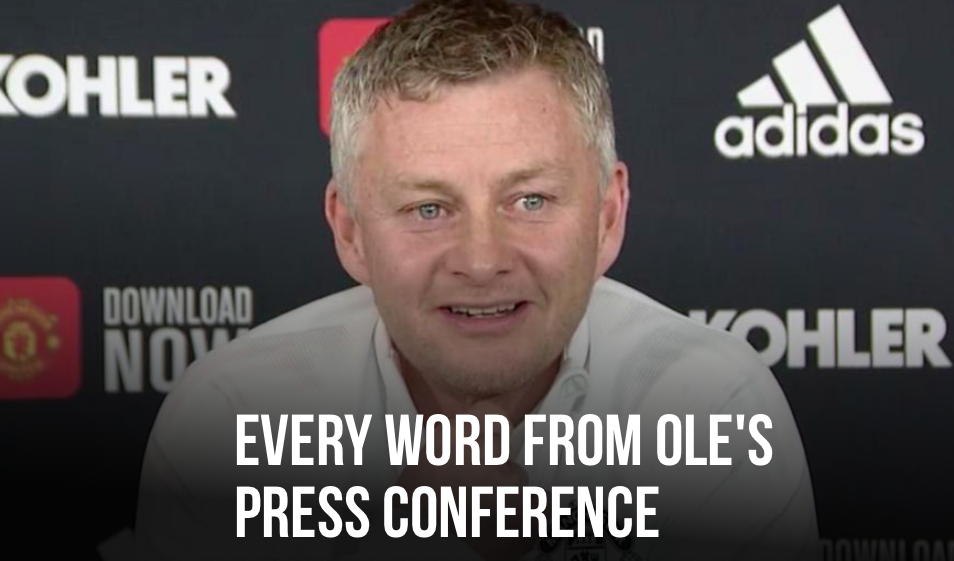 Ole on Premier League title's race - Bóng Đá