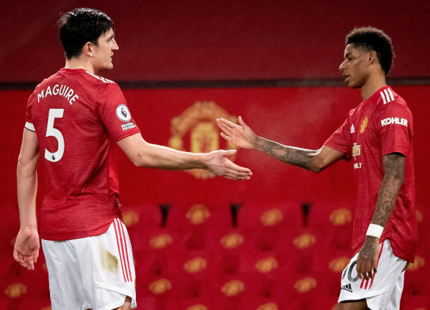 Man Utd ace Harry Maguire insists F-word exchange with Marcus Rashford wasn't a problem as they 'both want what's best' - Bóng Đá