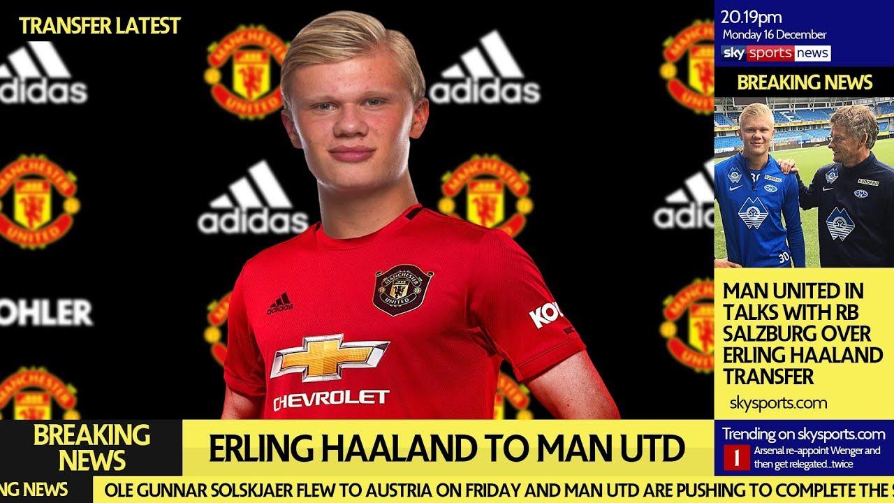 Ole Gunnar Solskjaer has been in regular contact with Erling Haaland  - Bóng Đá