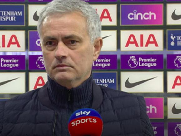 Jose Mourinho 'happy' with Crystal Palace goal vs Tottenham: 'Maybe you think I'm crazy, but I'm not bluffing' - Bóng Đá