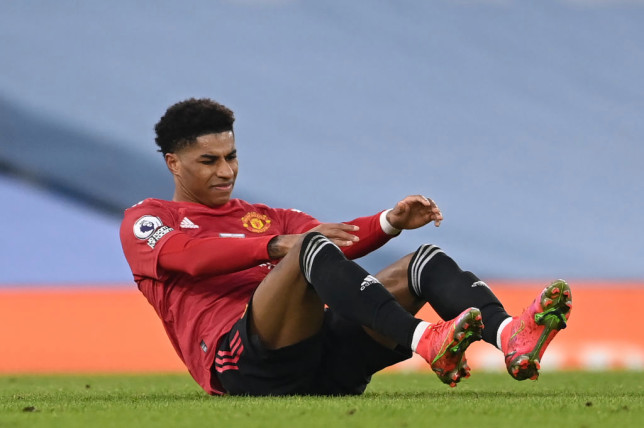 Manchester United receive update on Marcus Rashford injury after ankle scan - Bóng Đá
