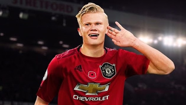 Erling Haaland - Solskjaer 'keeps calling' player to convince him over move to Manchester United - Bóng Đá