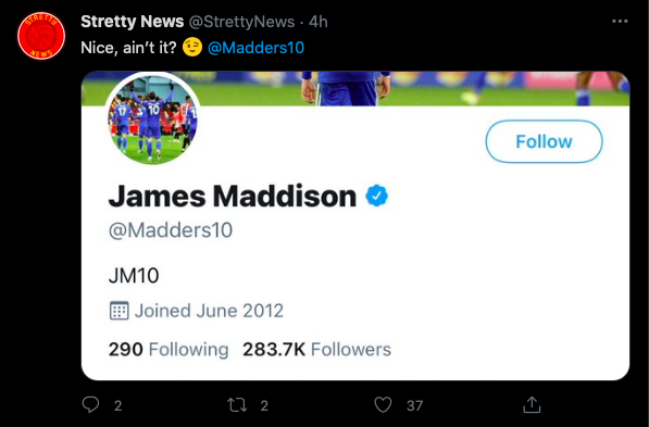 (Photo) Leicester City star James Maddison likes new Man Utd kit leaks - Bóng Đá
