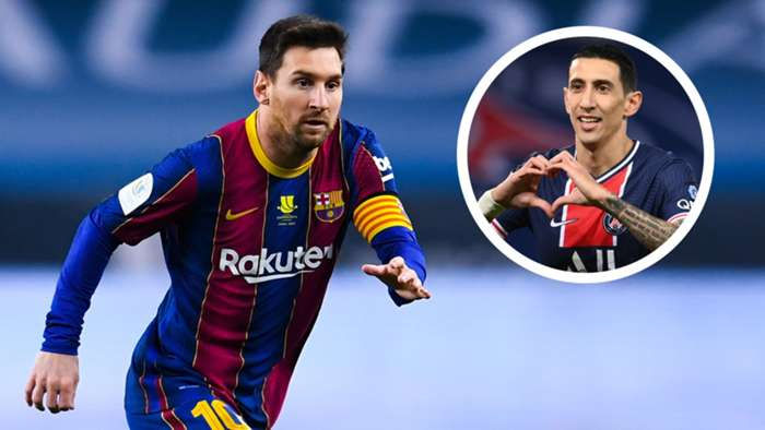 It would be 'wonderful' to play with Messi at PSG, says Di Maria - Bóng Đá