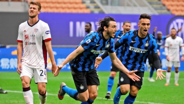 Leaders Inter Milan restore 11-point advantage over AC Milan after beating Cagliari 1-0 - Bóng Đá