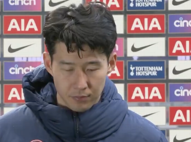 Heung-Min Son appears close to tears in emotional interview after Man Utd loss - Bóng Đá