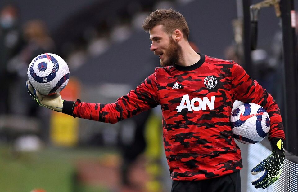 Spurs vs Man Utd: David de Gea's warm-up after he was dropped for Dean Henderson - Bóng Đá