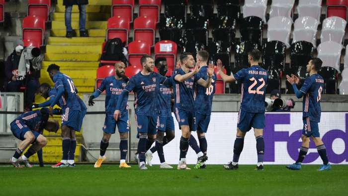 Arsenal on best away form in 89 years with Slavia Prague mauling - Bóng Đá