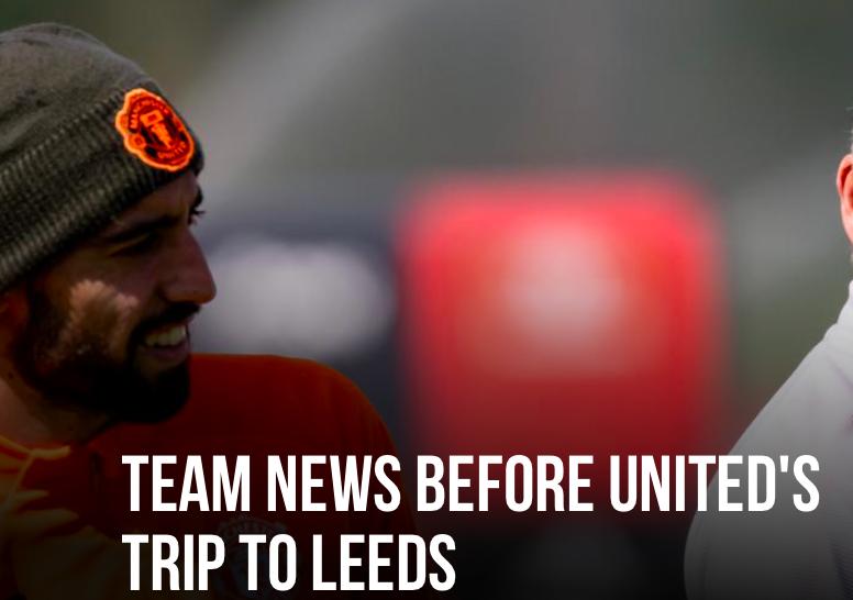 Ole updated Man Utd team news ahead of Leeds clash - Bóng Đá