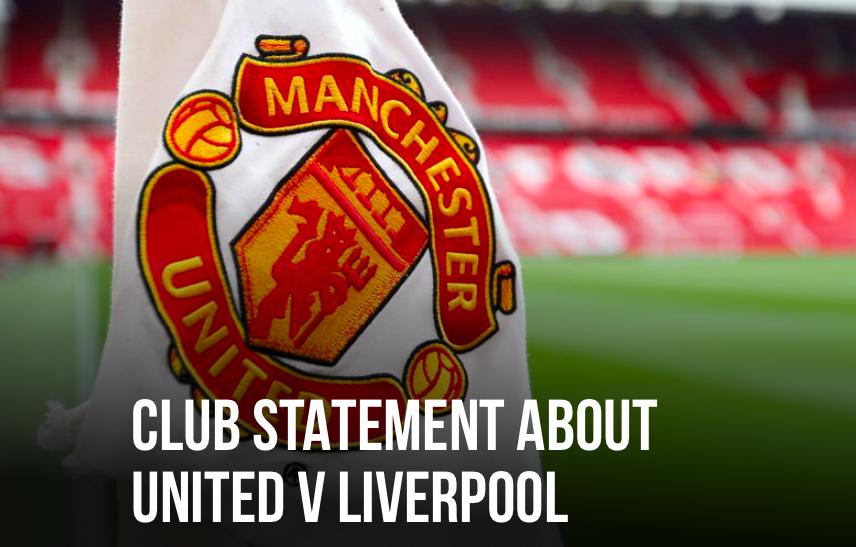 Man Utd release statement on today event - Bóng Đá