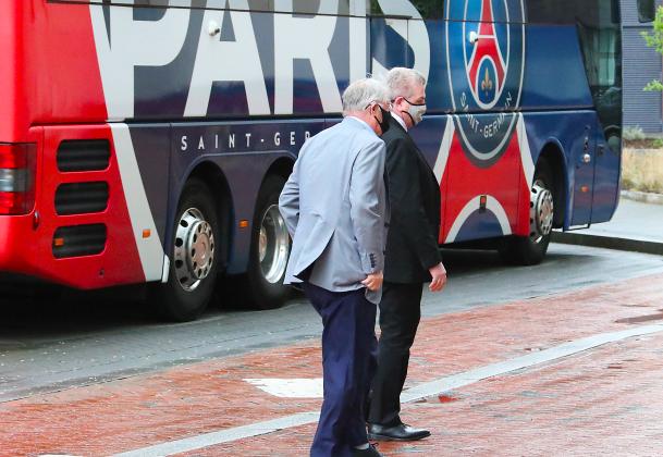 Sir Alex visits PSG - Bóng Đá