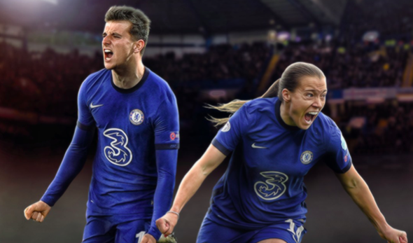 Chelsea are the first team ever to have a men's and women's team make the Champions League final in the same season  - Bóng Đá