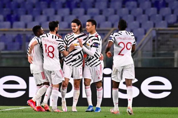 TRỰC TIẾP AS Roma 0-1 Man Utd (H1): Cavani nổ súng - Bóng Đá