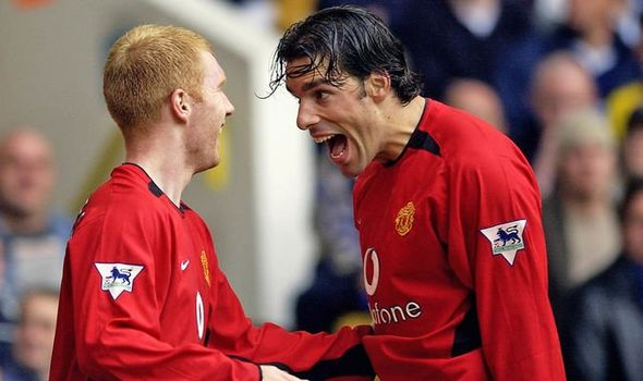 Manchester United have another Ruud van Nistelrooy at the club - Paul Scholes - Bóng Đá