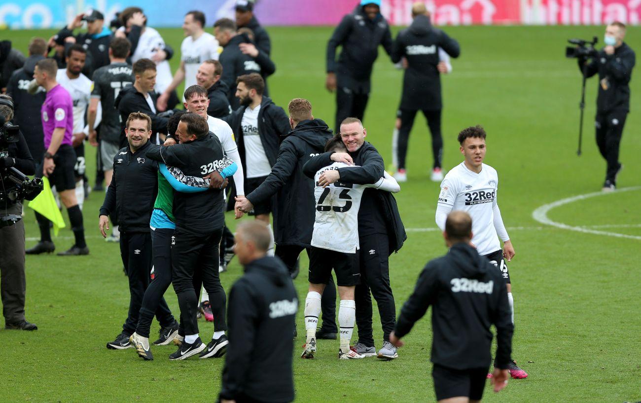 Wayne Rooney helps Derby County stay in Championship - Bóng Đá