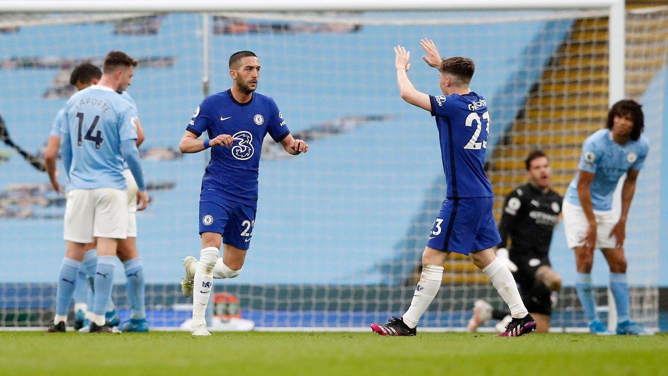 10 thống kê Man City 1-2 Chelsea: - Bóng Đá
