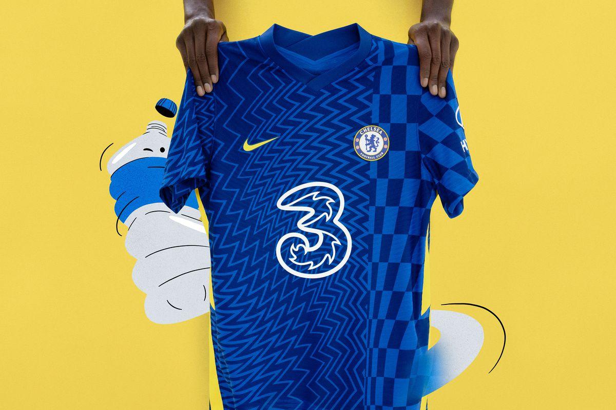 Chelsea tung áo đấu mới với họa tiết đầy biến ảo - Bóng Đá
