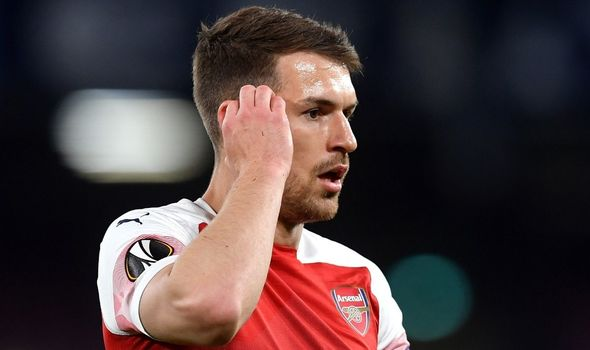 Aaron Ramsey 'would love to rejoin Arsenal' after being placed on Juventus transfer list - Bóng Đá