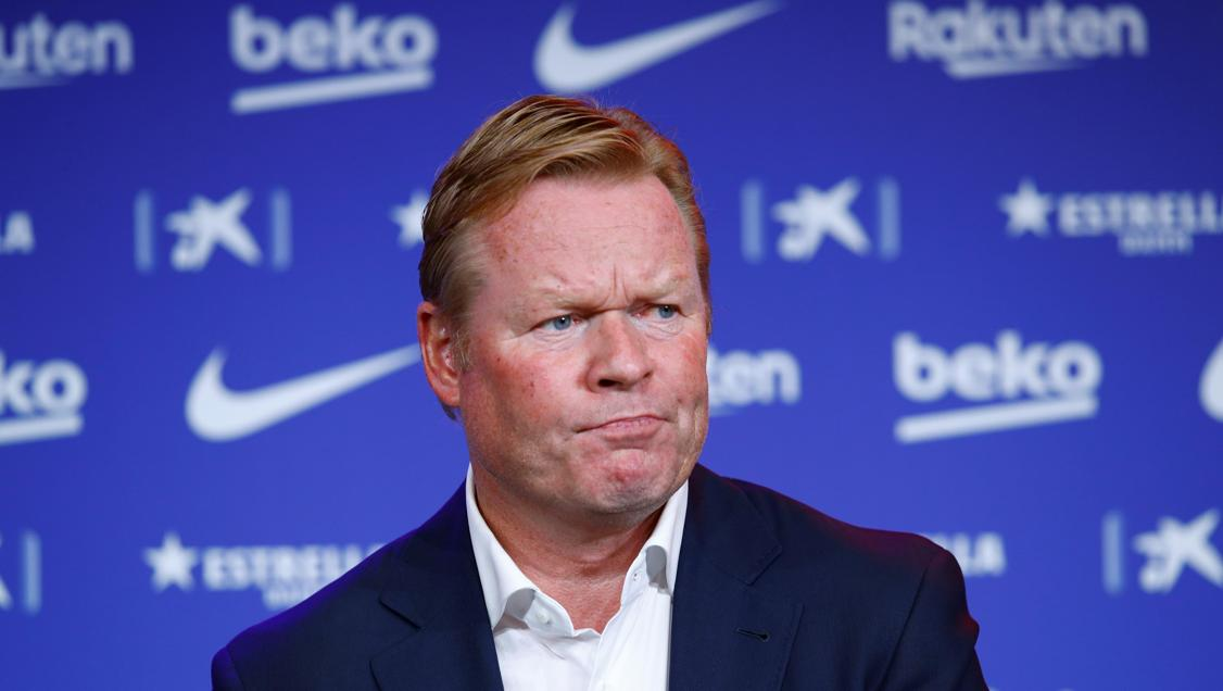 Barca quyết định sa thải HLV Ronald Koeman - Bóng Đá
