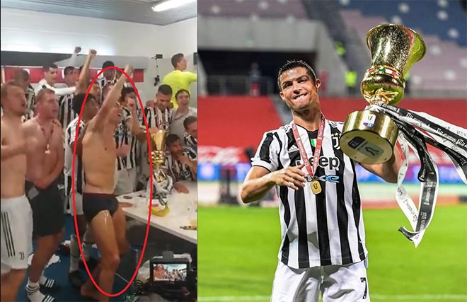 Lập kỷ lục vô tiền khoáng hậu, Ronaldo ăn mừng