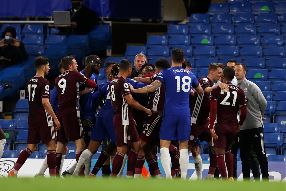 Chelsea FC and Leicester City fined by FA after Stamford Bridge battle - Bóng Đá