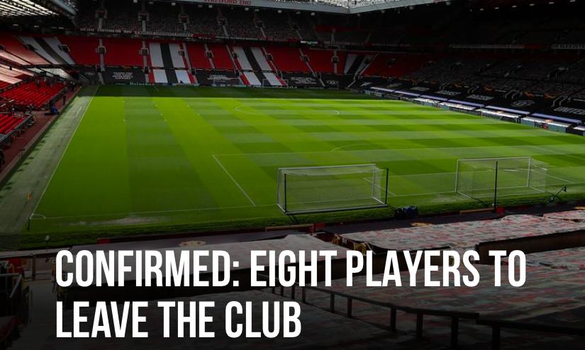 OFFICIAL: 8 players leaving Man Utd - Bóng Đá
