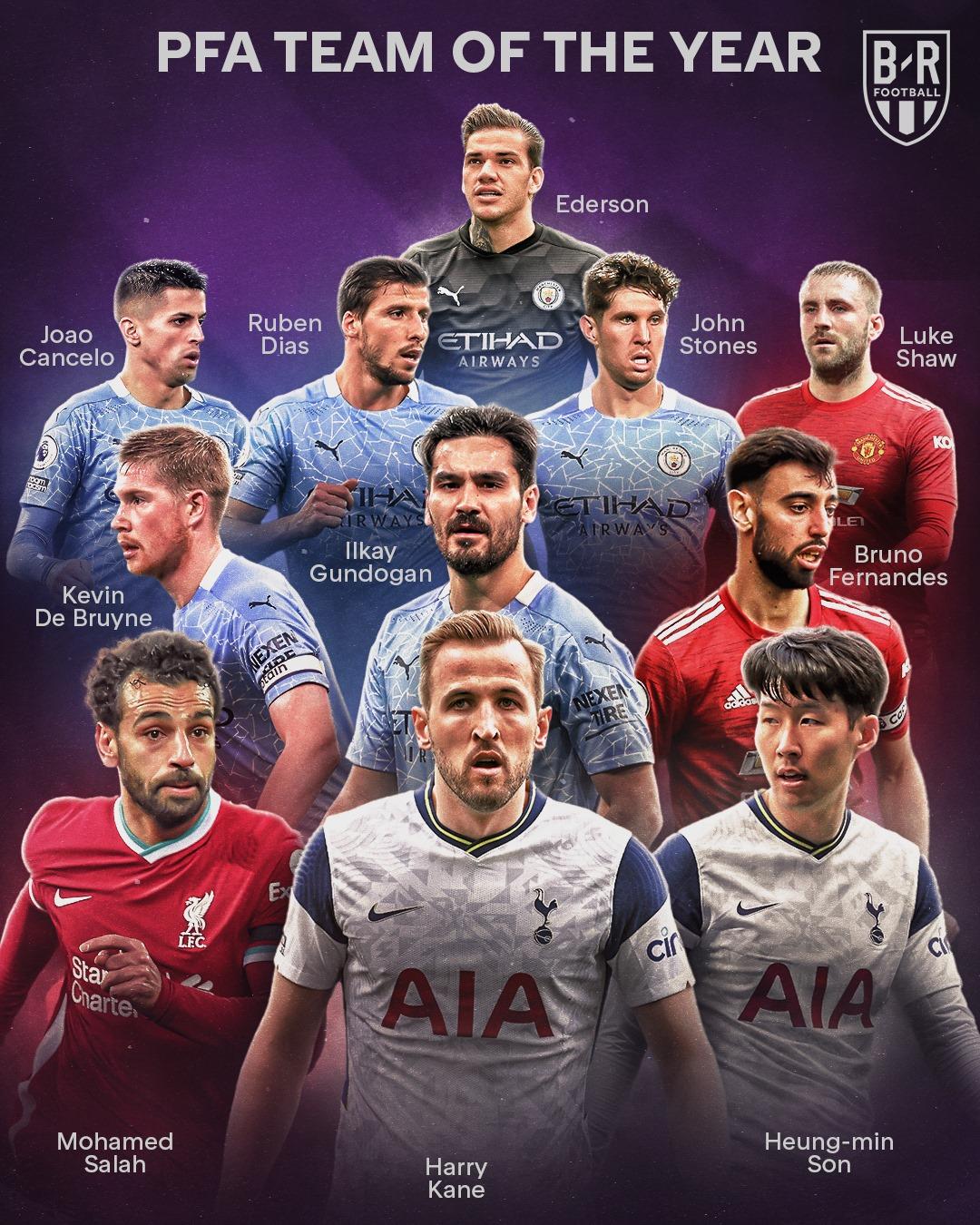 CHÍNH THỨC! Đội hình hay nhất Premier League mùa này: Bất ngờ một vị trí - Bóng Đá