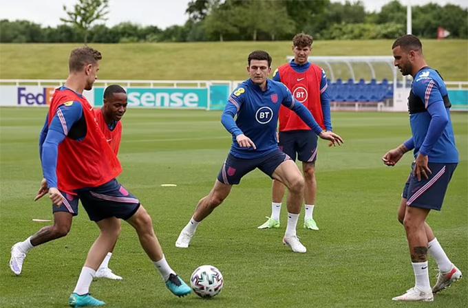 Lộ hình ảnh mới nhất, Maguire sẵn sàng cho EURO 2020 - Bóng Đá