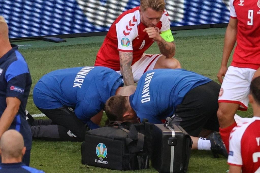 SỐC! Eriksen đột quỵ giữa trận Đan Mạch - Phần Lan - Bóng Đá