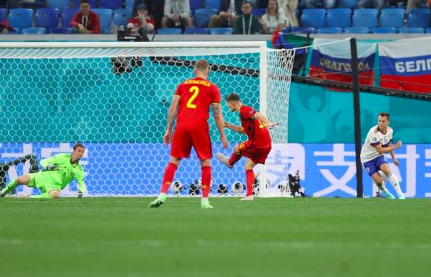 TRỰC TIẾP Bỉ 2-0 Nga (H1): Quỷ đỏ nhân đôi cách biệt - Bóng Đá