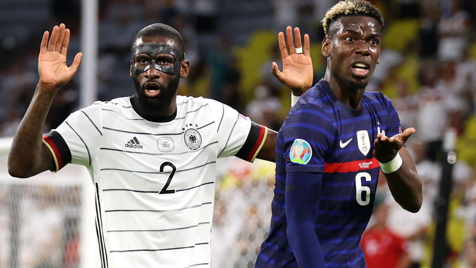 Antonio Rudiger escapes punishment over Paul Pogba 'bite' as Uefa decide against disciplinary case - Bóng Đá
