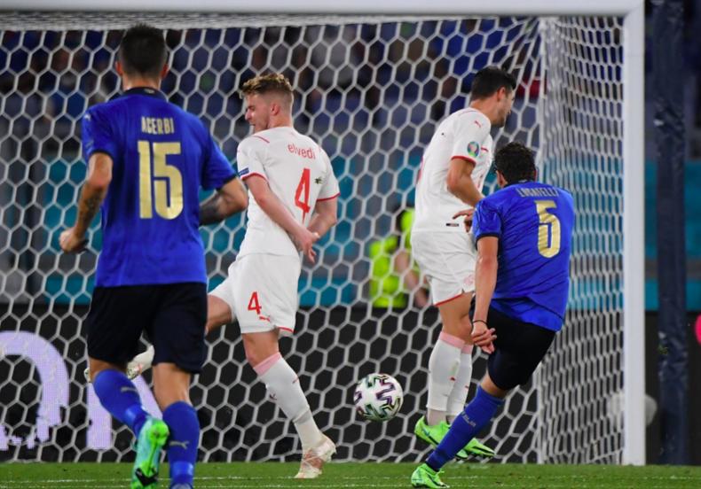 10 thống kê Italy 3-0 Thụy Sĩ: Lộ diện ứng cử viên vô địch - Bóng Đá