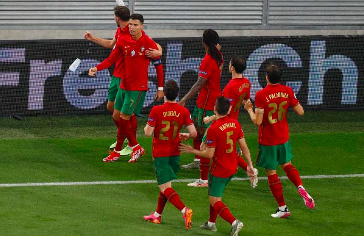Chấm điểm Bồ Đào Nha 2-2 Pháp: Đẳng cấp Ronaldo! - Bóng Đá