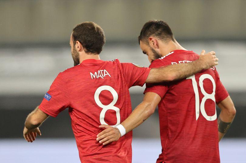 Juan Mata warns Bruno Fernandes over Manchester United shirt number request - Bóng Đá