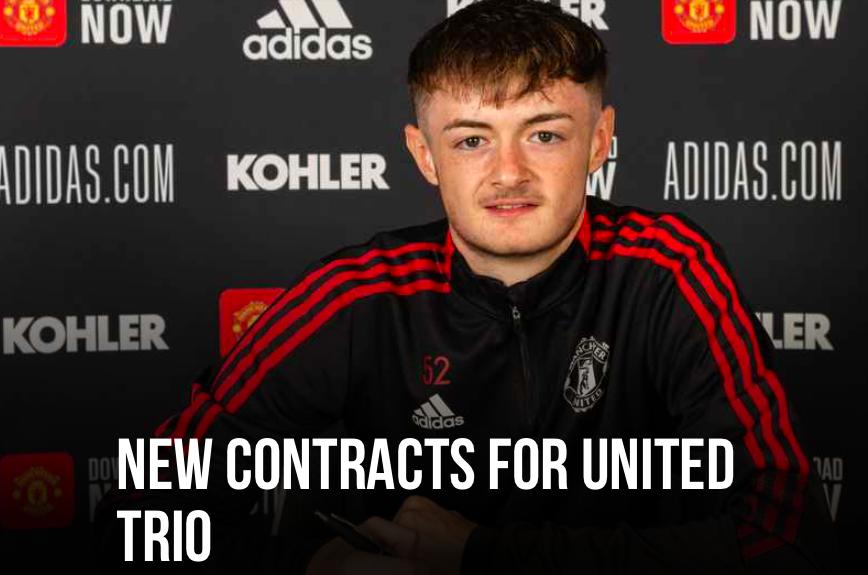 Joe Hugill and 2 players sign new Man Utd deal - Bóng Đá