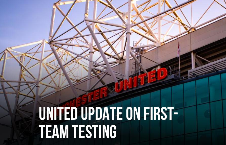 Man Utd update on first team Covid test - Bóng Đá