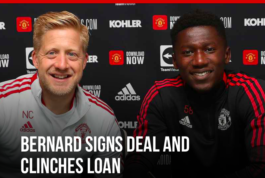 Manchester United is delighted to announce that Di'Shon Bernard has signed a new long-term contract. - Bóng Đá