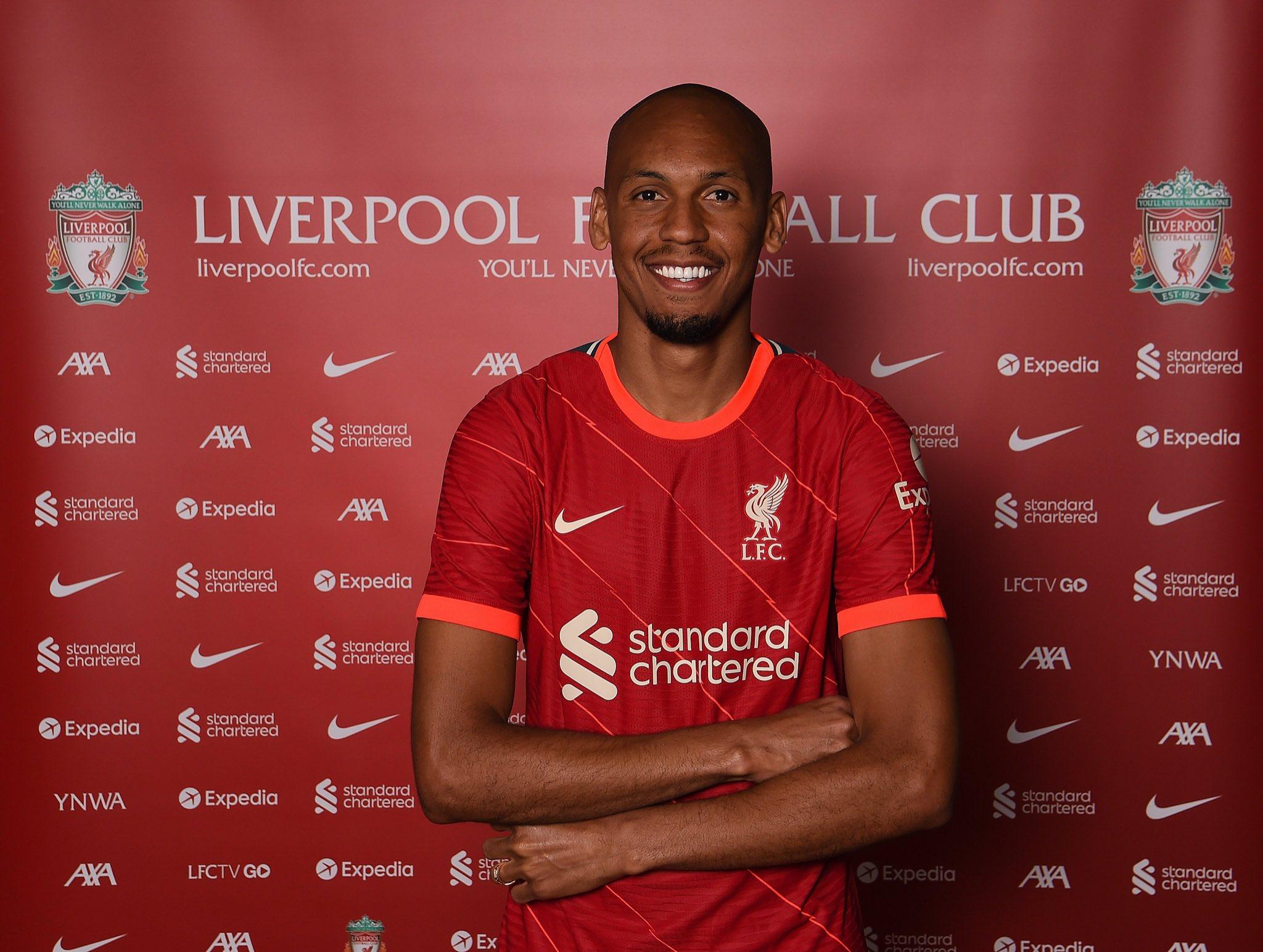 Fabinho signs new Liverpool contract - Bóng Đá