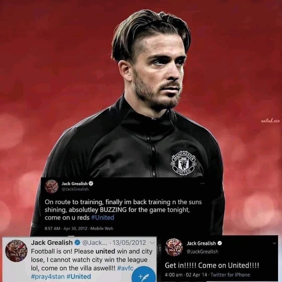 Tân binh 100 triệu của Man City là fan cuồng Man Utd - Bóng Đá