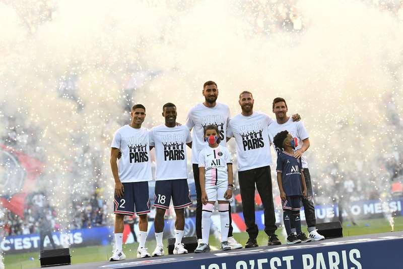 PSG gây choáng ngợp với màn ra mắt 5 tân binh - Bóng Đá