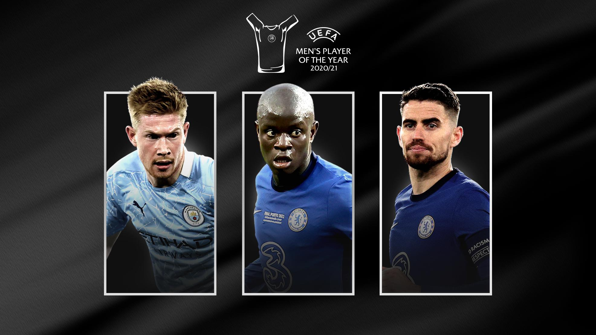 Nominees revealed for 2020/21 UEFA Player of the Year Awards - Bóng Đá