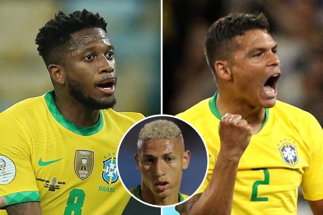 Fred vs dàn cầu thủ Brazil bị cấm 2 trận - Bóng Đá