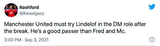 Manchester United fans have Victor Lindelof position change demand for Ole Gunnar Solskjaer - Bóng Đá